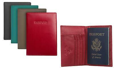 Visconti 75 Soft Leather Passport Wallet with RFID Identity Theft Protection