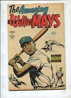The Amazing Willie Mays #1 (4.0) Key And Hard To Find!