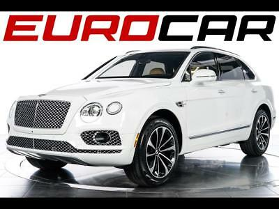 2017 Bentley Other W12 2017 Bentley Bentayga W12 - ONLY 300 MILES, TOURING SPEC., STUNNING WHITE ON TAN