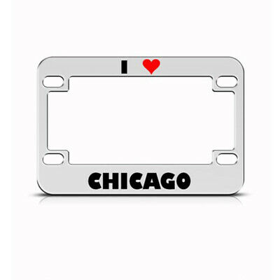 FIREFIGHTER FIGHT FIRE METAL BIKE MOTORCYCLE License Plate Frame ...