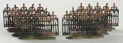 Dept 56 HALLOWEEN SPOOKY WROUGHT IRON FENCE 4256972