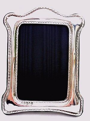 Stylish Finest 999 Quality Hallmarked Silver London & Britannia Photograph Frame