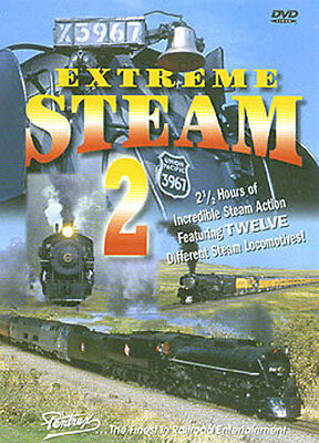 Extreme Steam 2 DVD Pentrex 3985 1225 93 East Broad Top 14 261 487 C&TS 6325 473