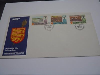 Jersey Definitive Issue 1970 (10) FDC