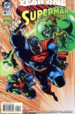 Superman The Man of Steel Annual #4 1995 FN Stock Image
