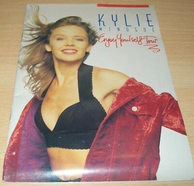 KYLIE MINOGUE Tour Programme 1990 'ENJOY YOURSELF TOUR'