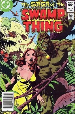 Swamp Thing (2nd Series) #8 1982 FN Stock Image