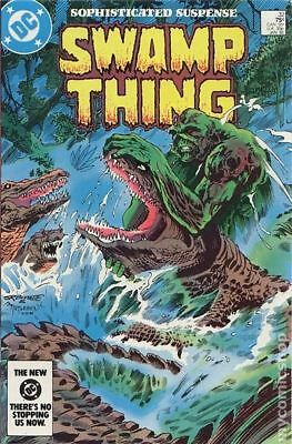 Swamp Thing (2nd Series) #32 1985 FN+ 6.5 Stock Image