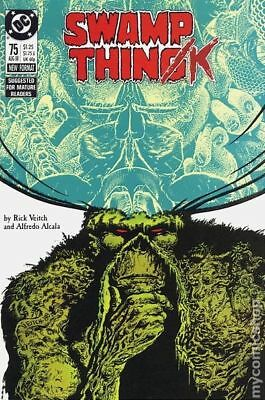 Swamp Thing (2nd Series) #75 1988 FN Stock Image