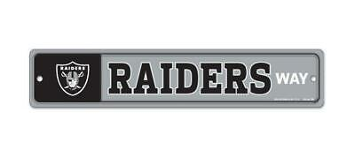 Oakland Raiders License Weg Way Schild 48 cm !,NFL Football,Neu