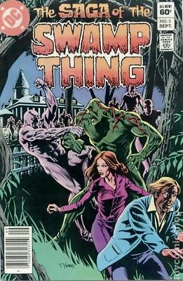 Swamp Thing (2nd Series) #5 1982 VF Stock Image