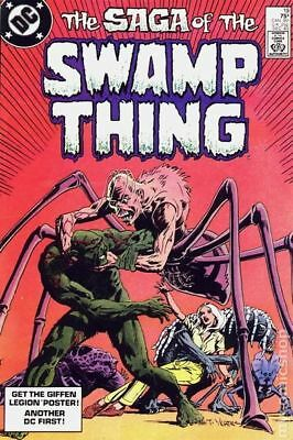 Swamp Thing (2nd Series) #19 1983 FN Stock Image