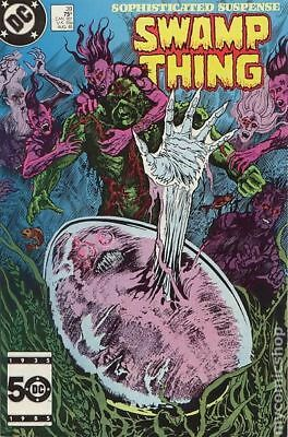Swamp Thing (2nd Series) #39 1985 FN Stock Image