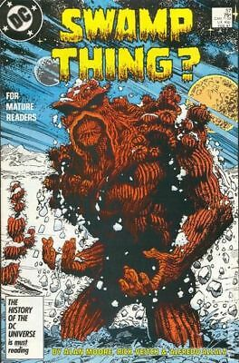 Swamp Thing (2nd Series) #57 1987 FN Stock Image