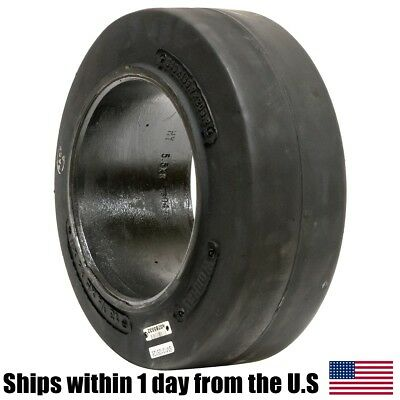 13.5x5.5x8 Solid Forklift Press-On Smooth Forklift Tire 13125128
