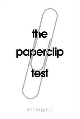 Paperclip Test, Gmurr, Mario, 9781910931004