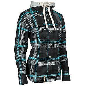 Speed & Strength Romance Womens Long Sleeve Armored Shirt Teal