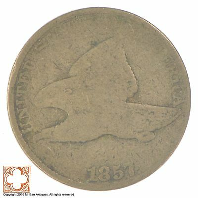 1857 Flying Eagle Cent *XB08