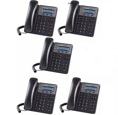 MAKE ME AN OFFER 5-PACK Grandstream GXP1610 2-Line HD SMB SIP Phone