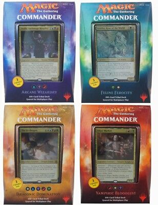 Commander 2017 Multiplayer Deck englisch Magic the Gathering MtG EDH