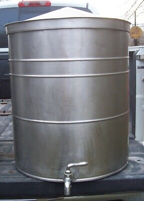 1 Vintage Stainless Steel Mixng tank for Root Beer 35gal local Pick up Only