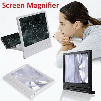Mobile Phone Screen Magnifier Bracket Enlarge Expander Stand Eyes Protection