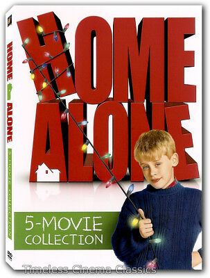 Home Alone 5 Movie Collection DVD New