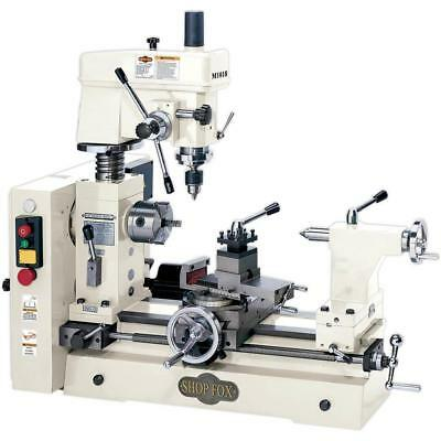 Shop Fox M1018 - Small Combo Lathe / Mill - Free Shipping