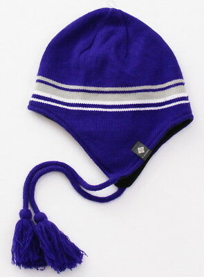 ecdaceab44b70 Columbia Purple Thermarator Thermal Reflective Peruvian Hat Adult One Size  NWT