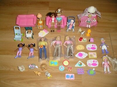 Fisher-Price LOT DOLLHOUSE FURNITURE  Loving Family LOT 4