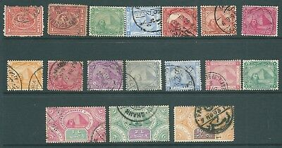 EGYPT - Early stamp collection of Pyramid & Sphinx issues including Revenues