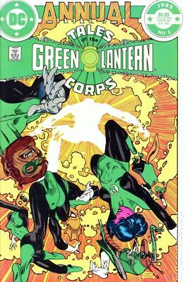 Tales of the Green Lantern Corps Annual #1 1985 FN Stock Image