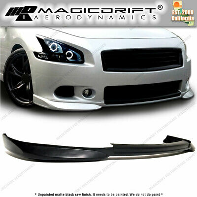 FITS 09-15 NISSAN Maxima 7th Gen MDP Style Front Bumper Lip