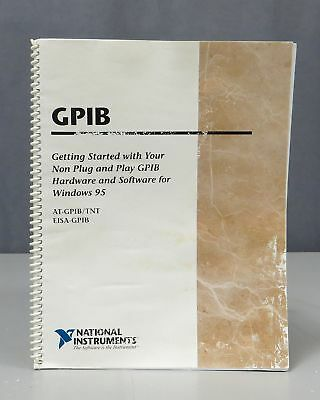 National Instruments GPIB AT-GPIB/TNT, EISA/GPIB Getting Started for Windows 95
