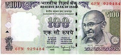 India 1996 100 Rupees Currency
