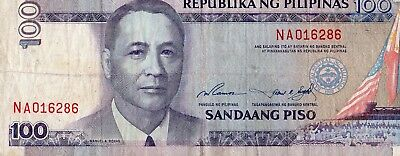 Philippines 2001-2006 100 Piso Currency