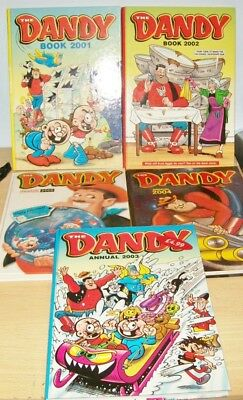 The DANDY Books x5 VGC/MINT - 2000s