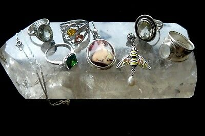 Solid Sterling Silver Variety Of Items New !!!!!!! Stamped 925
