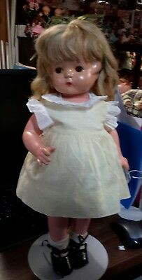 Vintage Effanbee Patsy Ann 19 inch tall Composition Doll with hair