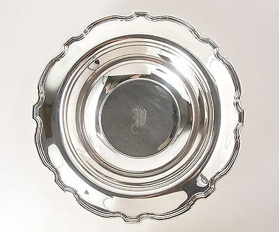 Antique Tiffany & Co. Vintage Sterling Silver Large Scalloped Bowl 12""
