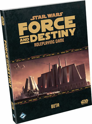 Star Wars Force And Destiny Core Rolebook Beta Edition FF 7 character Sheets New