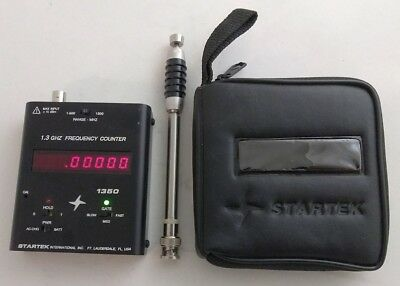 StarTek ATH-15 Auto Trigger & Hold 1.5 GHz Frequency Counter