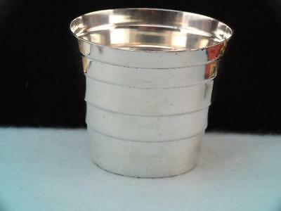 Antique Tiffany & Co Sterling Silver Shot Glass Jigger Cup $9.99