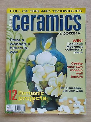 Australian Ceramics & Pottery vol 3 #5~Dolphin~Vase~Table~Plates~Castle~Mosaic