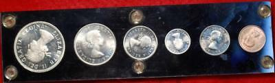 Uncirculated 1964 Canada Mint Set Free S/H