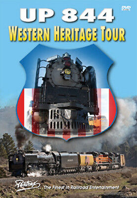 Union Pacific UP 844 Western Heritage Tour DVD Pentrex Donner Pass Cheyenne NEW