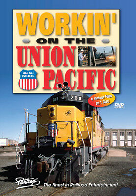 Working on the Union Pacific DVD Pentrex rare publicity films Centennial 6902