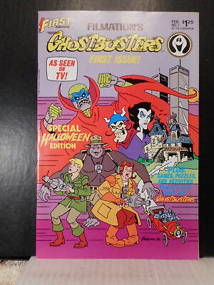 Filmation's Ghostbusters # 1  (1987)  NM   126TB.