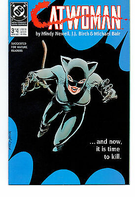 1989 DC Comics Catwoman 3 of 4 Miniseries For Mature Readers