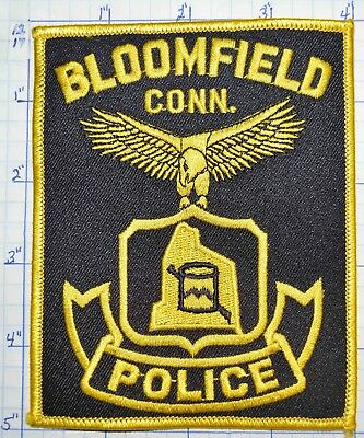 Connecticut, Bloomfield Police Dept Patch